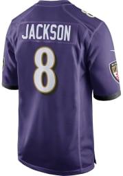 Lamar Jackson Nike Baltimore Ravens Purple Home Game Football Jersey