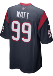 JJ Watt Nike Houston Texans Navy Blue Home Game Football Jersey