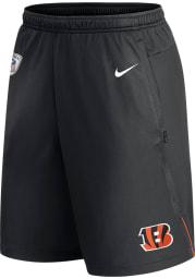Nike Cincinnati Bengals Mens Black Coach Knit Shorts