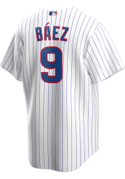 Javier Baez Chicago Cubs Mens Replica 2020 Home Jersey - White
