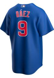 Javier Baez Chicago Cubs Mens Replica 2020 Alternate Jersey - Blue