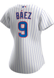 Javier Baez Chicago Cubs Womens Replica 2020 Home Jersey - White