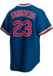 Ryne Sandberg Chicago Cubs Nike 94-96 Alternate Throwback Cooperstown Jersey - Blue