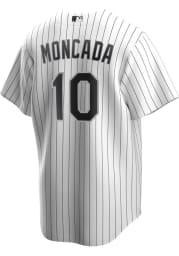 Yoan Moncada Chicago White Sox Mens Replica 2020 Home Jersey - White