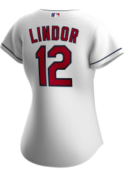 Francisco Lindor Cleveland Indians Womens Replica 2020 Home Jersey - White