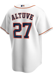 Jose Altuve Houston Astros Mens Replica 2020 Home Jersey - White