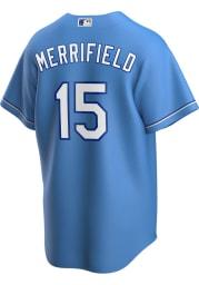 Whit Merrifield Kansas City Royals Mens Replica 2020 Alternate Jersey - Light Blue
