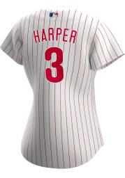Bryce Harper Philadelphia Phillies Womens Replica 2020 Home Jersey - White