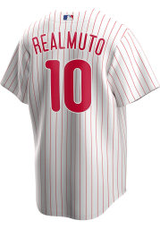 JT Realmuto Philadelphia Phillies Mens Replica 2020 Home Jersey - White