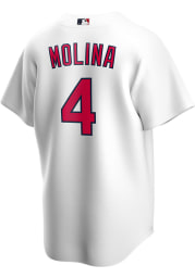 Yadier Molina St Louis Cardinals Mens Replica 2020 Home Jersey - White