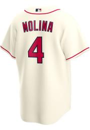 Yadier Molina St Louis Cardinals Mens Replica 2020 Alternate Jersey - Ivory