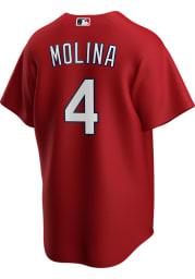 Yadier Molina St Louis Cardinals Mens Replica 2020 Alternate Jersey - Red