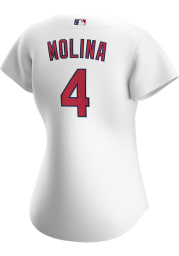 Yadier Molina St Louis Cardinals Womens Replica 2020 Home Jersey - White