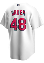 Harrison Bader St Louis Cardinals Mens Replica 2020 Home Jersey - White