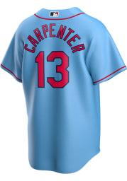 Matt Carpenter St Louis Cardinals Mens Replica 2020 Alternate Jersey - Light Blue