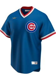 Chicago Cubs Nike 94-96 Alternate Throwback Cooperstown Jersey - Blue