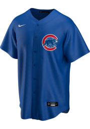 Chicago Cubs Mens Nike Replica 2020 Alternate Jersey - Blue