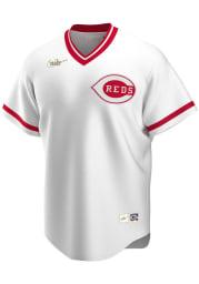 Cincinnati Reds Nike Throwback Cooperstown Jersey - White