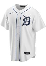 Detroit Tigers Mens Nike Replica 2020 Home Jersey - White