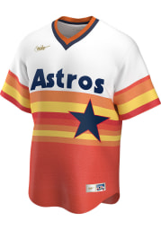 Houston Astros Nike 1994 Tequila Sunrise Throwback Cooperstown Jersey - Orange