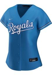 Kansas City Royals Womens Nike Replica 2020 Alternate Jersey - Light Blue