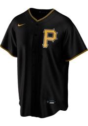 Pittsburgh Pirates Mens Nike Replica 2020 Alternate Jersey - Black