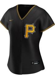 Pittsburgh Pirates Womens Nike Replica 2020 Alternate Jersey - Black