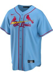 St Louis Cardinals Mens Nike Replica 2020 Alternate Jersey - Light Blue