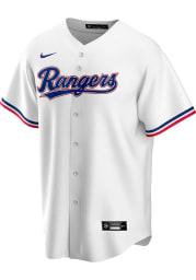 Texas Rangers Mens Nike Replica 2020 Home Jersey - White