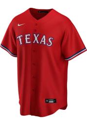 Texas Rangers Mens Nike Replica 2020 Alternate Jersey - Red