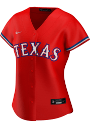 Texas Rangers Womens Nike Replica 2020 Alternate Jersey - Red