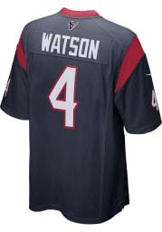 Deshaun Watson Nike Houston Texans Navy Blue Home Game Football Jersey