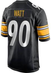 TJ Watt Nike Pittsburgh Steelers Black Home Game Football Jersey