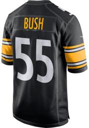 Devin Bush Nike Pittsburgh Steelers Black Home Game Football Jersey