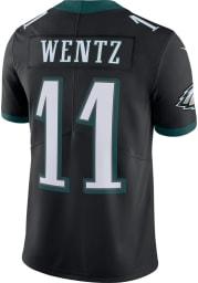 Carson Wentz Nike Philadelphia Eagles Mens Black Alternate Limited Football Jersey