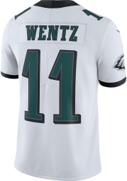 Carson Wentz Nike Philadelphia Eagles Mens White Road Limited Football Jersey
