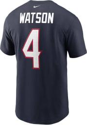 Deshaun Watson Houston Texans Navy Blue Primetime Short Sleeve Player T Shirt
