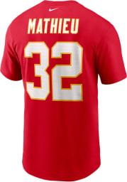 Tyrann Mathieu Kansas City Chiefs Red Primetime Short Sleeve Player T Shirt
