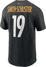JuJu Smith-Schuster Pittsburgh Steelers Black Primetime Short Sleeve Player T Shirt