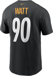 TJ Watt Pittsburgh Steelers Black Primetime Short Sleeve Player T Shirt