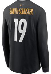 JuJu Smith-Schuster Pittsburgh Steelers Black Primetime Long Sleeve Player T Shirt