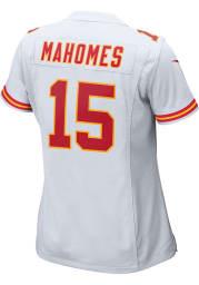 Patrick Mahomes Nike Kansas City Chiefs Womens White Road Game Football Jersey