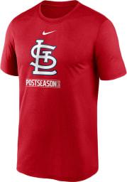 Nike St Louis Cardinals Red AC 2020 Postseason Short Sleeve T Shirt