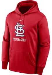 Nike St Louis Cardinals Mens Red AC 2020 Postseason Hood