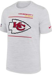 Nike Kansas City Chiefs White Velocity Short Sleeve T Shirt