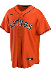 Houston Astros Mens Nike Replica Alt Replica Jersey - Orange
