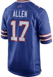 Josh Allen Nike Buffalo Bills Blue Home Game Football Jersey