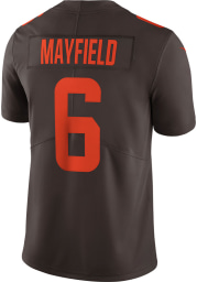 Baker Mayfield Nike Cleveland Browns Mens Brown Alternate Limited Football Jersey