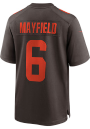 Baker Mayfield Nike Cleveland Browns Brown Alternate Game Football Jersey