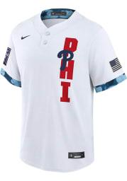 Philadelphia Phillies Mens Nike Replica All-Star Replica Jersey - White
